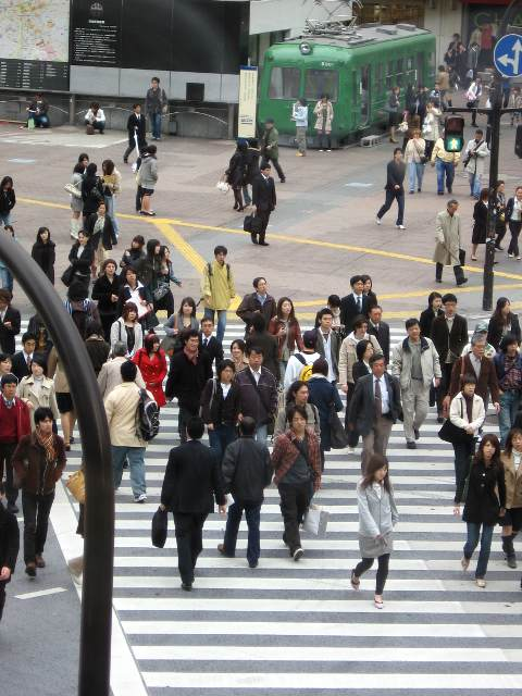 Shibuya people